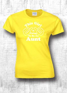 927aa96e This Girl Is Going To Be an Aunt t shirts i love my aunt gifts for aunt  shirts new aunt t shirts unisex shirts awesome aunt slim tshirt 306