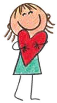 Art Drawings For Kids, Doodle Drawings, Cartoon Drawings, Easy Drawings, Doodle Art, Art For Kids, Stick Figure Drawing, Rock Painting Designs, Stick Figures