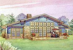 Plan 16502AR: Passive Solar House Plan With Bonus Loft
