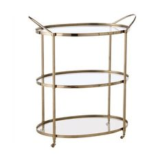 My Two Designers Arteriors Home Connaught Bar Cart ($1,476) ❤ liked on Polyvore featuring home, kitchen & dining and bar tools