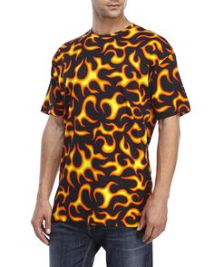 "Check out ""Flame Print Tee"" from Century 21"