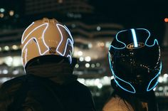 The Lightmode Motorcycle Helmet Gives Safety a Futuristic Twist #tech trendhunter.com