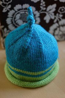 Simple to make - only takes one ball of yarn, you can knit it in sport, worsted or heavy worsted. Great for charity projects!