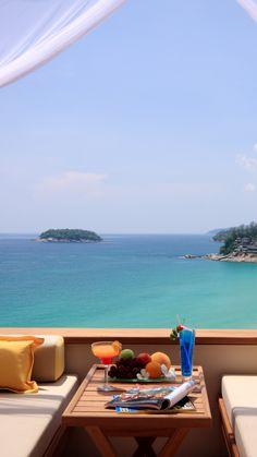 Summer-Breakfast-Ocean-View-iPhone-6-Plus-HD-Wallpaper