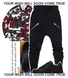 """""""Brackin"""" by callmehdaddy ❤ liked on Polyvore featuring adidas"""
