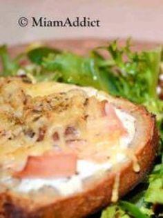35 recettes de tartines salées