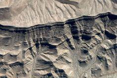 Arequipa Peru, rock pattern, Google-Earth-view-1437