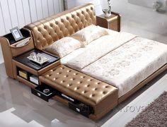 Sofa Bed Design, Living Room Sofa Design, Bedroom Bed Design, Bedroom Sets, Bedroom Furniture, Furniture Design, Master Bedroom Interior, Luxurious Bedrooms, Interior Design