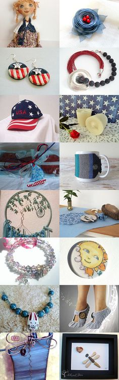 Summer APPRECIATION  by Roxanne on Etsy--Pinned with TreasuryPin.com #Estyhandmade #giftideas #summerfinds