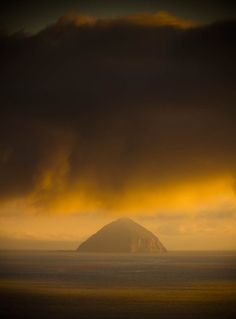 Well haven't actually been out to it, but have photographed it from all angles. Ailsa Craig, from Kildonan bay, Isle of Arran SCOTLAND. Beautiful Places In The World, Places Around The World, Around The Worlds, Outlander, Isle Of Arran, Places In Scotland, West Coast Scotland, Scottish Islands, British Isles