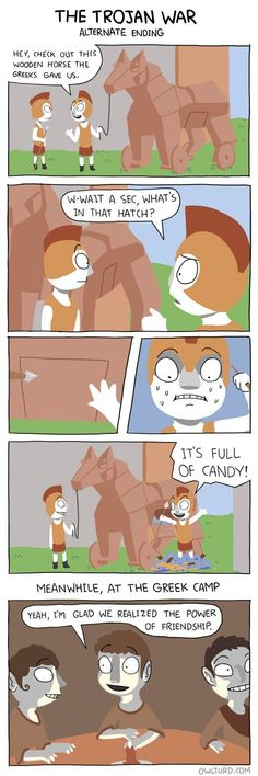 Ponies Could Solve All Of History's Problems