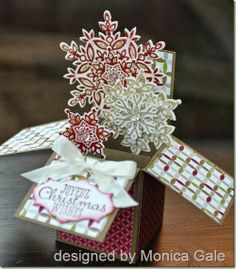 This does fold flat so you can mail it. It can easily be done with flowers or butterflies or Christmas trees/baubles or ...