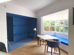 Un lindo rincón para un espacio de trabajo Conference Room, Table, Furniture, Home Decor, Ocean Room, Work Spaces, Offices, Projects, Homemade Home Decor