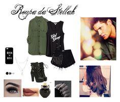 """Dean"" by kjchbhdc on Polyvore featuring moda, Zara, Express, Eyeko, Aéropostale, Casetify, BERRICLE e Charlotte Russe"