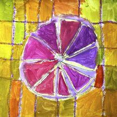 Citrus fruits in complementary colours Fruit Art Kids, Citrus Fruits, Preschool Activities, Colours, Shapes, Third Grade, Creative, Opal, Student