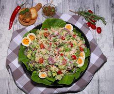 De gezonde recepten van Ursie Slow Cooking, Pesto, Cobb Salad, Food, Tomatoes, Meal, Essen, Hoods, Slow Cooker