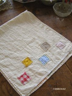 handmade*zakka | fabrickaz+idees My Linen Tea Towels