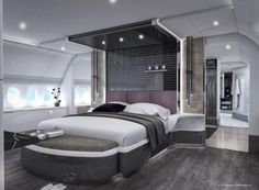 THE inside of Boeing's million looks like a five-star luxury hotel. Stunning pictures show plush bedrooms, futuristic style shower pods and lavish dining rooms, aboard the private a…