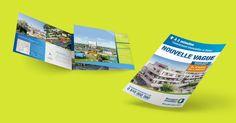 bouygues immobilier nouvelle vague logo plaquette film - Conseil, Communication, Innovation - Quintesis