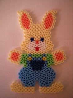 Easter rabbit hama perler beads