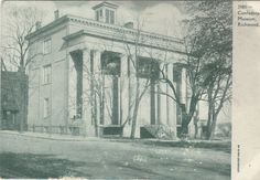 Confederate Museum-Richmond,Virginia 1908