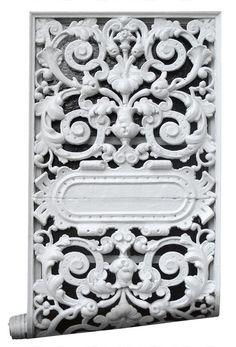 Mineheart - Eccentric British Design - Cast Iron Wallpaper, £70.00 (http://www.mineheart.com/cast-iron-wallpaper/)