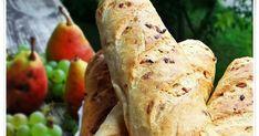 A bagettek lényegében a Zürichi kenyér tésztájából vannak, annyi különbséggel, hogy pirított hagyma került bele..... nagyon finom, ér...