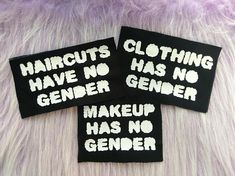 Hey, I found this really awesome Etsy listing at https://www.etsy.com/uk/listing/567785659/gender-patch-set-haircuts-clothing