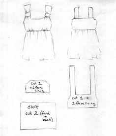 Rosie's top sketch