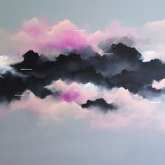 Gorgeous Cloud Paintings by Brooklyn Whelan