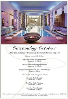 Check out our #Outstanding #October offer at Hébe #Spa ! You deserve it! #awardwinning #luxury #resort #pamper #pissouribay #cyprus #hospitalitywithheart <3 http://www.columbiaresort.com/en-gb/spa-special-offers