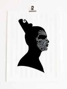 BWAIPUKAart is a collection of digitally designed limited edition art inspired by New Zealand Maori culture and heritage Maori Legends, New Zealand Art, Nz Art, Maori Art, Kiwiana, Buy Prints, Female Portrait, Art Boards, Illustration