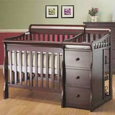 Newport 3 in 1 Mini Crib N Changer This is the exact crib/ changing table combo we are hoping to use