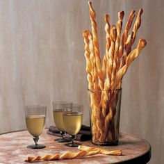 Light and flaky and redolent of cheese, puff-pastry straws can do double duty as tempting premeal bites to accompany wine or cocktails and as an unexpected offering at the table.