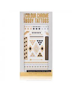 MODELS OWN Colour Chrome Body Tattoo Stars - Jetzt kaufen auf www.makeupland.de