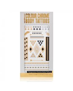 MODELS OWN Colour Chrome Body Tattoo Stars - Jetzt kaufen auf www.makeupland.de