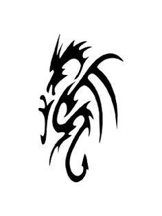 Dragon Stencil 1