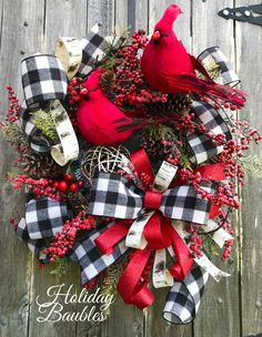 Excited to share this item from my shop: Christmas Wreath, Christmas Cardinal Wreath, Christmas Flocked Wreath, Christmas Berry Wreath, Christmas Decor Christmas Berries, Red Christmas, All Things Christmas, Christmas Music, Christmas Movies, Holiday Wreaths, Holiday Crafts, Christmas Decorations, Christmas Ornaments