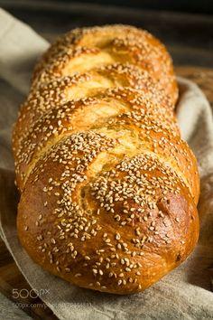 Homemade Sesame Challah Bread by brenthofacker  IFTTT 500px