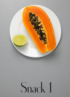 Papaya 7 Tage Detox Plan, Clean Eating, Easy Detox, Snacks, Cantaloupe, Fruit, Healthy, Fitness Workouts, Foods