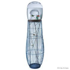 The DUPLEX Aquarium Birdcage In A Limited New Edition | http://www.ifitshipitshere.com/duplex-aquarium-combo-birdcage-new-edition/