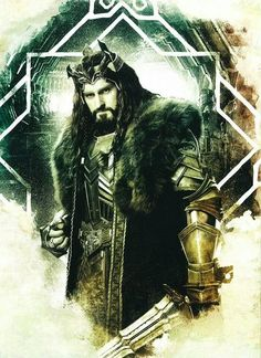 OMG!!! A new photo of thorin oakenshield in armor and with crown :-) :-) :-) :-) :-)