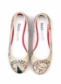 Dogo shoes Stamps Flats