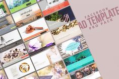 Facebook Ad Template Pro Pack by pmvch on @creativemarket