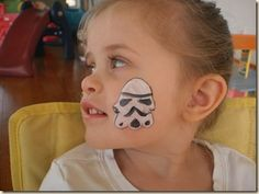 She's Crafty!~: Star Wars Face Paint Gig