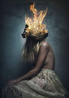 "Flora Borsi; Photography, ""Nymph's Death"" #art"