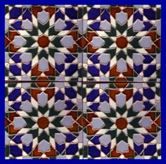 Galleries - A7-Moorish DesignTiles - 724-Marrakesh