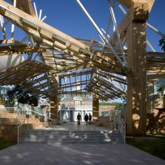 Serpentine Gallery & the Serpentine Gallery Pavilion 2008 by Frank Gehry