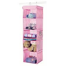 Walmart: Whitmor 5-Shelf Hanging Accessory Rack, Pink. Remember for putting out clothes night before