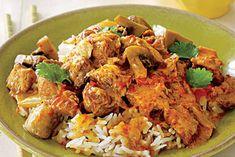 Porc façon Thaï recette weight watchers - Recette WW - The Best Korean Recipes Ww Recipes, Curry Recipes, Pork Recipes, Slow Cooker Recipes, Asian Recipes, Crockpot Recipes, Cooking Recipes, Healthy Recipes, Ethnic Recipes